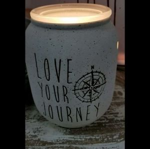 Scentsy Accents - New Scentsy Love your Journey Warmer